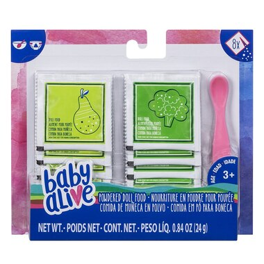 Baby Alive Powdered Doll Food Refill Pack