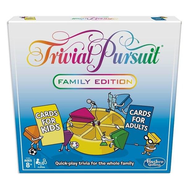TRIVIA PURSUIT FAMILY GAME