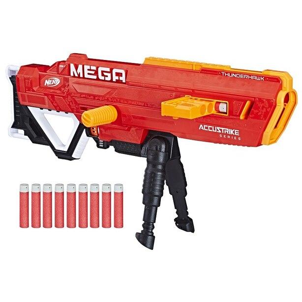Nerf Dart Blaster N-Strike Mega AccuStrike Series Thunderhawk