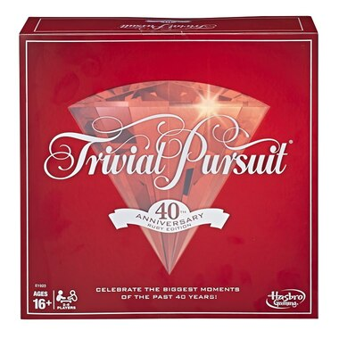 Hasbro™ Trivial Pursuit Game 40th Anniversary