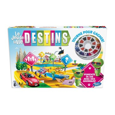 The Game of Life game Pets French