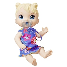Baby Alive Lil Sounds Interactive Baby Doll Blonde Hair