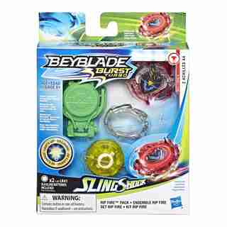 Beyblade Burst™ Slingshock Rip Fire Starter Pack Z Achilles A4
