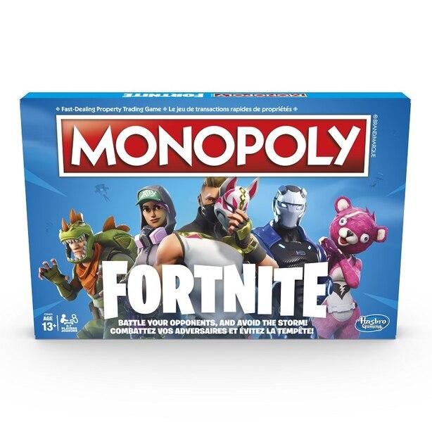 Monopoly Board Game Fortnite Edition