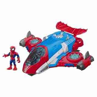 Playskool Spider Man Jetquarters
