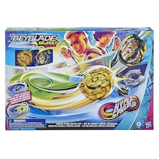 Beyblade Burst Rise Hypersphere Vortex Climb Battle Set -- Complete Set with Beystadium, Battling…