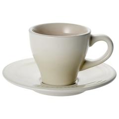 Le Creuset Espresso Cups & Saucers Set of 2 - Dune