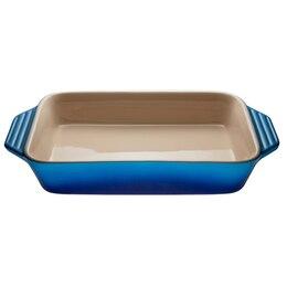 Le Creuset 3L Rectangular Stoneware Dish – Blueberry