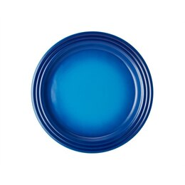 Le Creuset Dinner Plates Set of 4 - Blueberry