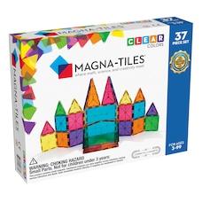Ensemble Magna-Tiles 37 pièces de couleurs claires
