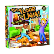 The Floor is Lava! Physical Activity Board Game Bilingual
