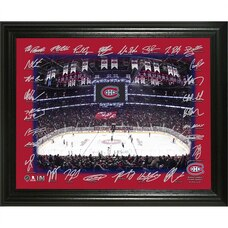 Montreal Canadiens 2019-2020 Team Autographed Frame