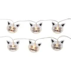 "Cat String Lights - 96"""