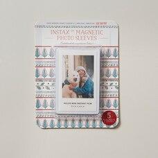Pochettes photo magnétiques Instax/Blanc 6.2x9.4cm/5 pieces