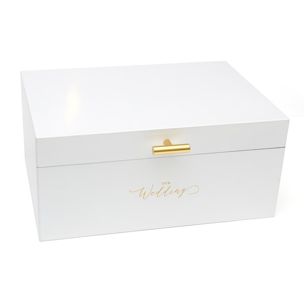 Style Me Pretty Card Box White