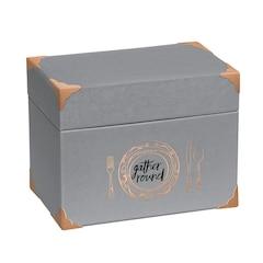 Creme De La Crème Recipe File Box