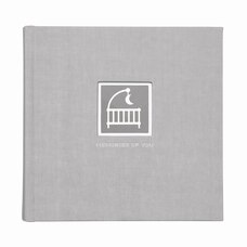 C.R. Gibson Photo Journal Album Grey Cloth
