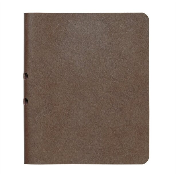 Brown Refillable Soft Cover Notebook