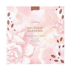 Thymes Goldleaf Gardenia Foaming Bath Salts
