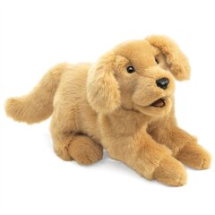 Folkmanis Golden Retriever Puppy Puppet