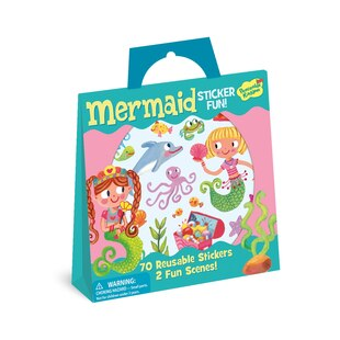 Mermaid Sticker Activity Tote