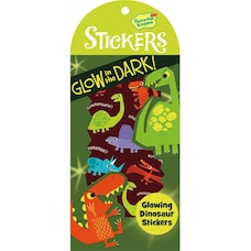 GLOWING DINOSAUR STICKERS