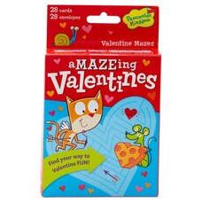 Valentine's Day Cards Pack - Mazes