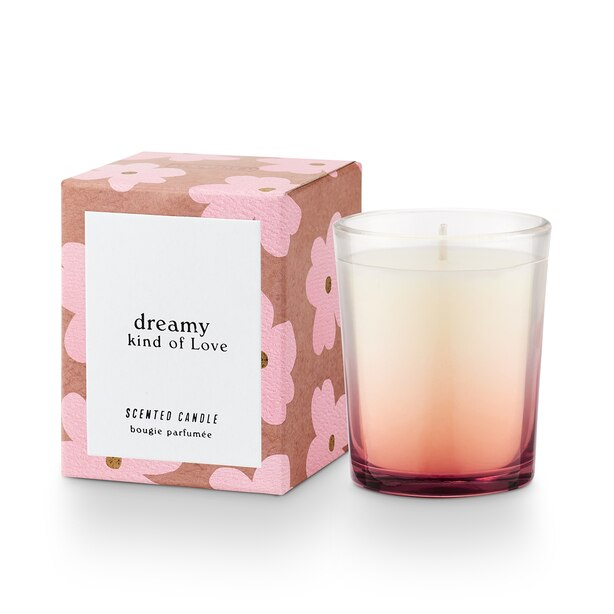 Illume Dreamy Kind of Love Votive Candle Rose Blush Buttercream