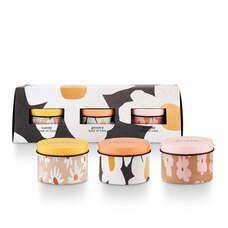Illume Love Triangle Candle Trio