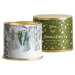 Illume® Vanity Tin Candle – Balsam & Cedar