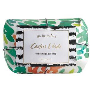 Illume® Cactus Verde Triple Milled Bar Soap