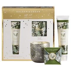 Illume Balsam & Cedar Gift Set.