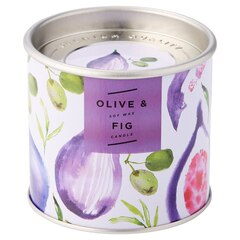 Garden Tin Candle – Fig & Olive