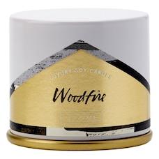 ILLUME® Demi Vanity Tin Candle – Woodfire