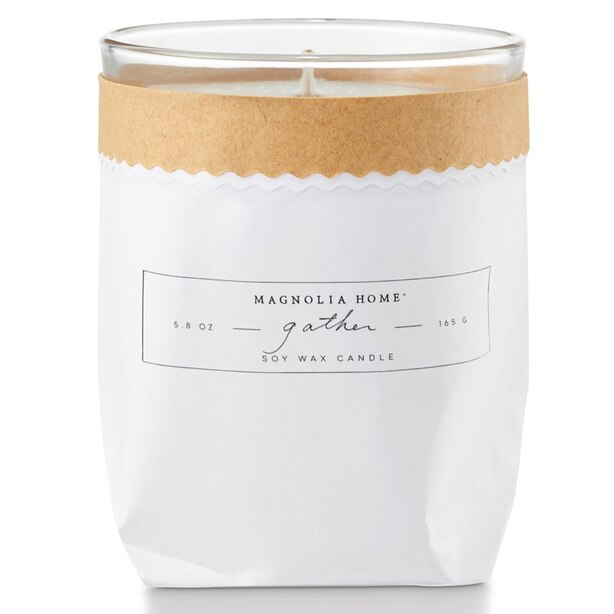 Magnolia Home Kraft Candle – Gather