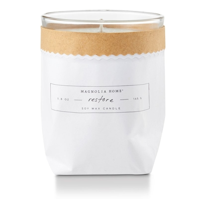 Magnolia Home Kraft Candle – Restore