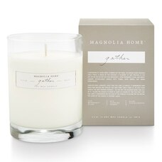Magnolia Home Boxed Glass Candle – Gather