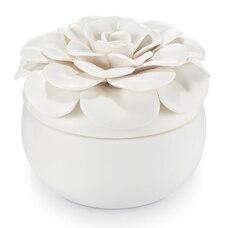 Ceramic Flower Candle - Gardenia