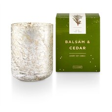 ILLUME® BOXED GLASS CANDLE BALSAM AND CEDAR