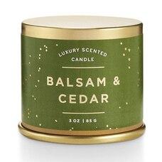 ILLUME® DEMI-TIN VANITY CANDLE BALSAM AND CEDAR