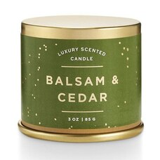 ILLUME® DEMI-TIN VANITY CANDLE BALSAM AND CEDAR
