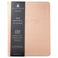 2019-2020 18-Month Monthly Planner Rose Gold