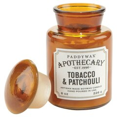 Paddywax® Apothecary Glass Candle - Tobacco & Patchouli