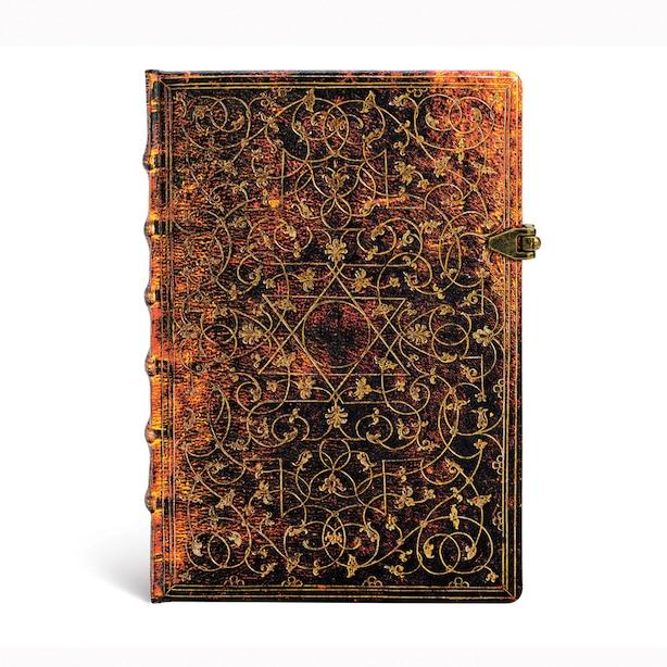 Paperblanks Grolier(Grolier Ornamentali) Hardcover Notebook - Lined