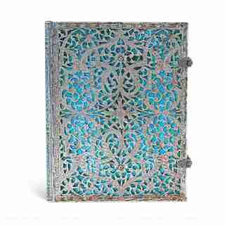 PAPERBLANKS ULTRA LINED JOURNAL MAYA BLUE