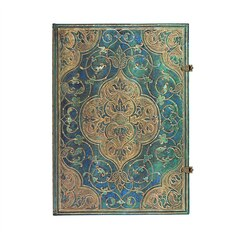 PAPERBLANKS TURQUOISE CHRONICLE GRANDE UNLINED JOURNAL