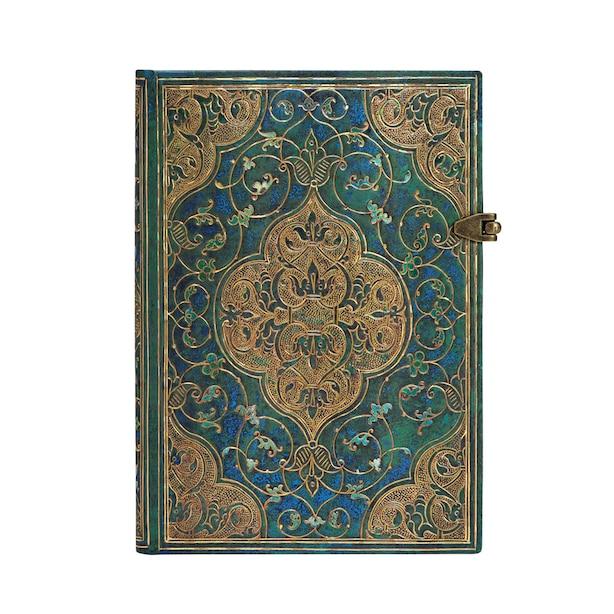 Paperblanks Chroniques Turquoises  Midi Ligné