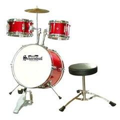 Junior 5 Piece Drum Set Red
