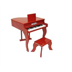 Schoenhut Red Fancy Baby Grand Toy Piano (red)