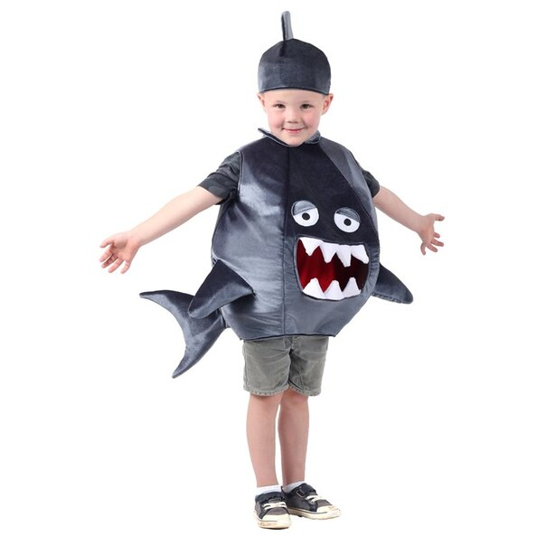 Kids Costume Feed Me Shark Size XS/S